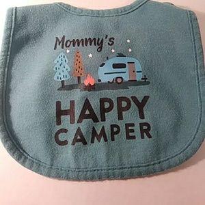 Carter's Happy Camper Bib